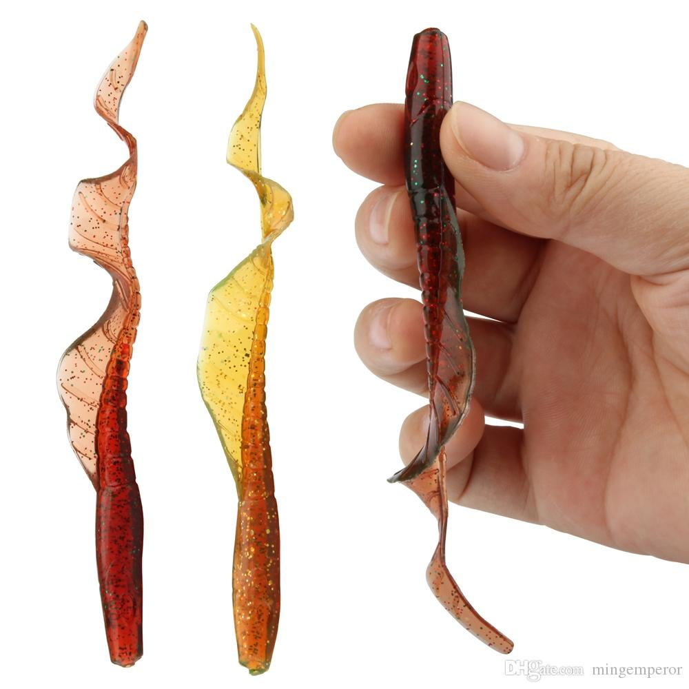 / ROSEWOOD Señuelos blandos clásicos Gusanos 13cm 5 pulgadas 4g Swimbaits Cebo artificial Señuelo de silicona Aparejos de pesca realistas Señuelos de pesca