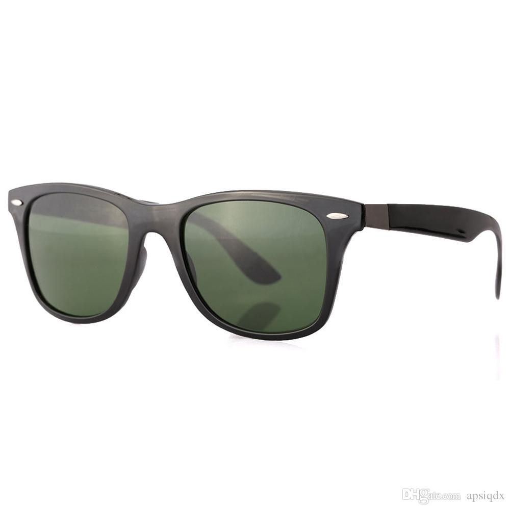 59c7ea2923d Sports Brand Designer Sunglasses Men Women Square Plank Frame Glass  Mirrored Lens Sunglasses Ultra-textured Vintage Retro Club Glasses  Sunglasses Online ...