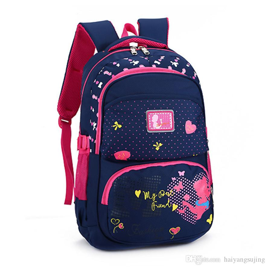 Brand Genuine Quality Cartoon Waterproof Bookbag Backpack School ... ec19e5d664fcc