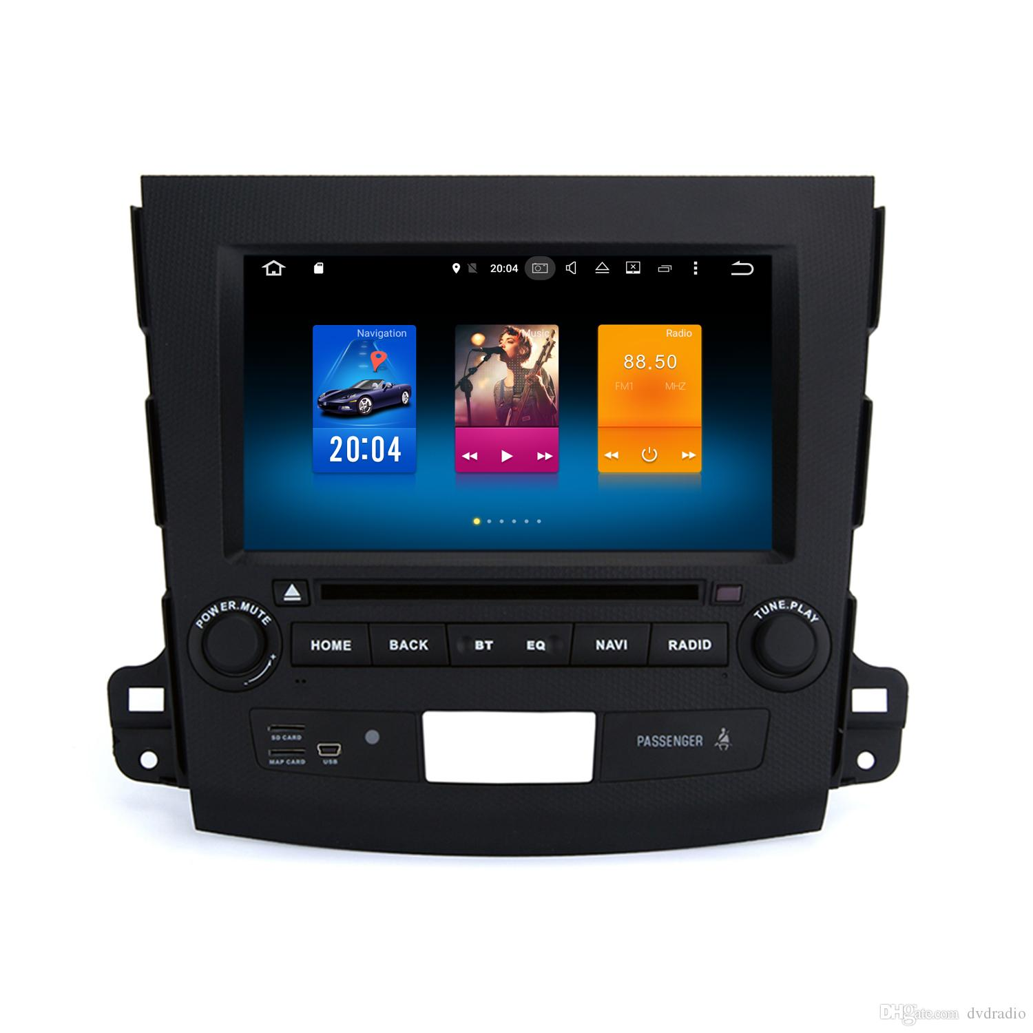 8 Android 6.0 Car DVD Head Unit For Mitsubishi Outlander 2007 2011 With  Octa Core 2+32G RAM GPS Navi Tape Recorder Mirror Screen WIFI 4G Very Dvd  Player ...