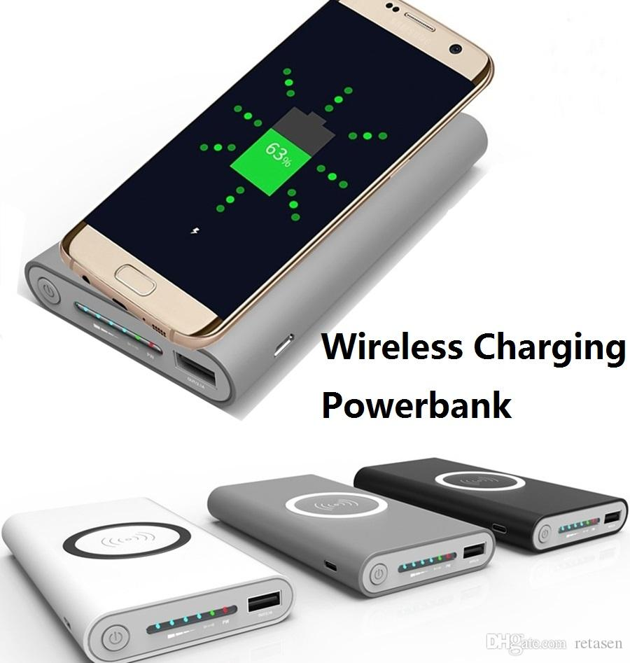 Best Wireless Charging Battery Bank Wire Center Ideal 61532 Analog Circuit Breaker Finder 10000mah Qi Power Emergency Rh Dhgate Com Computer Charger