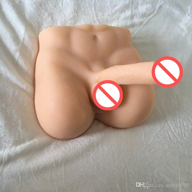 5kg Lifelike Full Silicone Male Sex Doll for Women with Big Dildo Adult Sex Doll with Anus Hole Sex Products for gay
