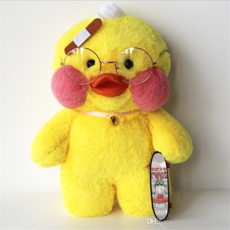 Online Cheap Hot Net Lalafanfan Cafe Mimi Ins Yellow Duck Kids Toys ...