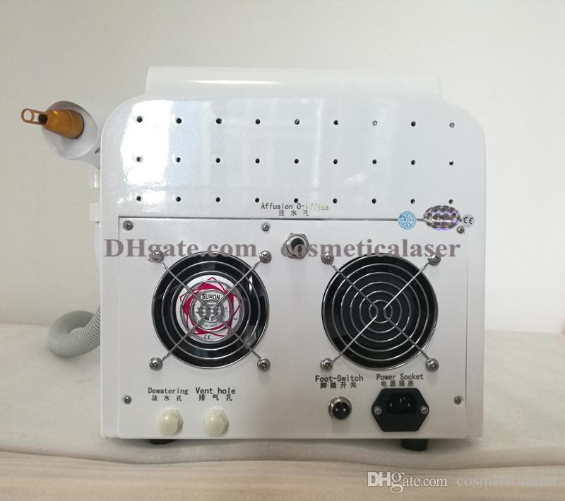 Dispositivo de belleza Tattoo Eliminar Máquina láser / Q Switch ND Yag Laser