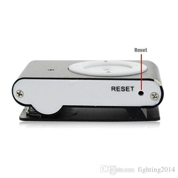 Reproductor de MP3 Cámara con Clip mini Cámara de la videocámara Mini Video Grabadora de Audio Mini DV DVR Azul / Negro