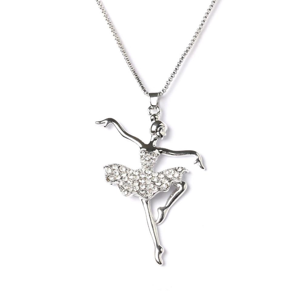 wholesale ballet jewelry wholesale wholesale fashion silver plated white 2501