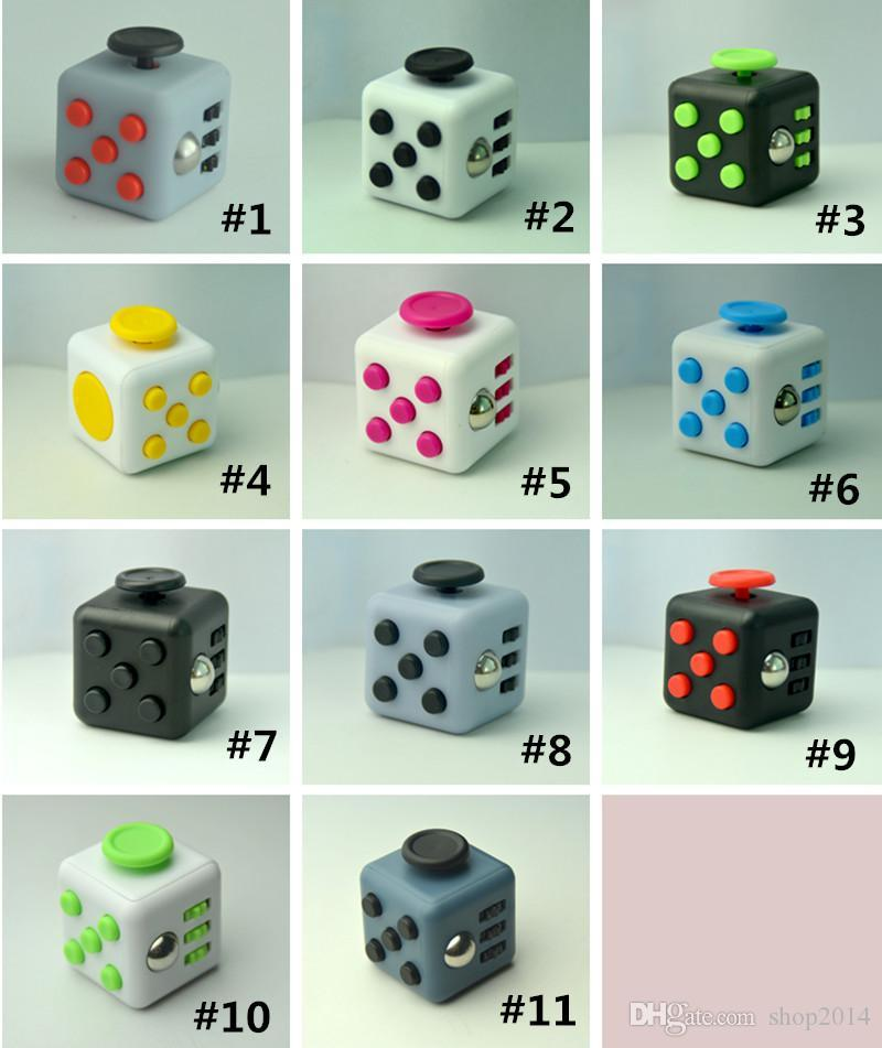 Fidget Cube Unzip The RubikS Box Resistance Fidgety Dice Decompression Alone Magic Creative Toy Gifts Custom Stress Relievers Reliever