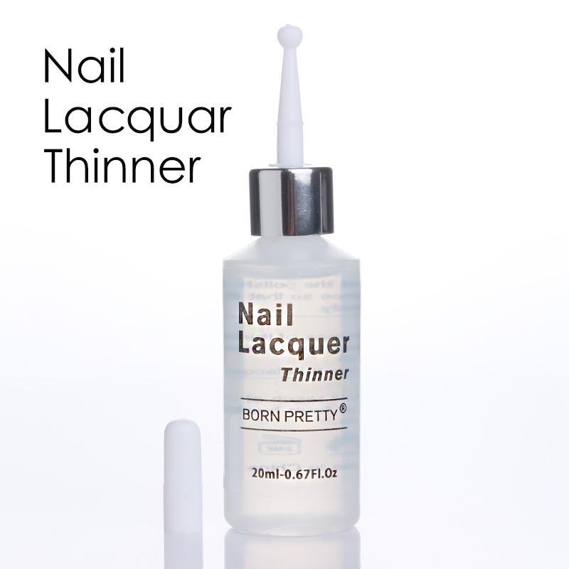 1 Bottle BORN PRETTY Nail Polish Thinner 20ml Lacquer Varnish ...