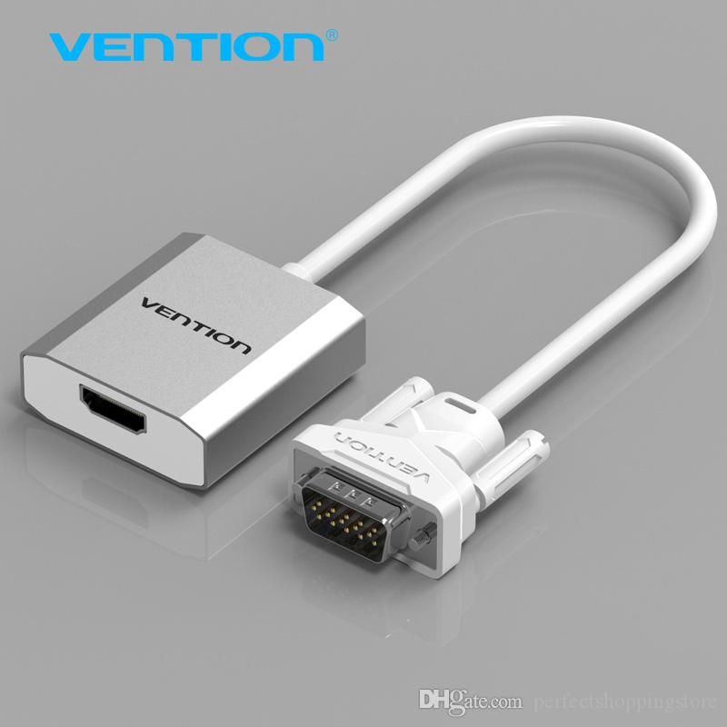 Vention Vga To Hdmi Converter Cable Adapter With Audio 1080p Vga