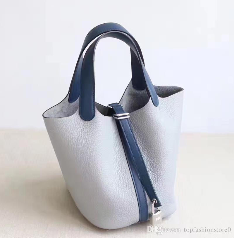 Cuir Togo Top De Double Seau H304 22cm Qualité Super Véritable Poignée Designer Swift Marque En Sac PicotinFemmes zUGLMjqSVp