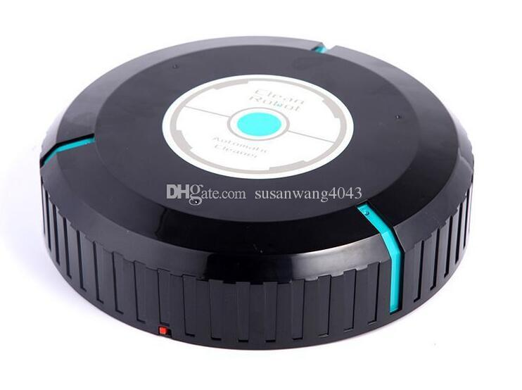 mini robot cleaners Portable Intelligent Sweeper Floor vacuum cleaner Lazy smart Automatic induction dust cleaning machine DHL free QT005