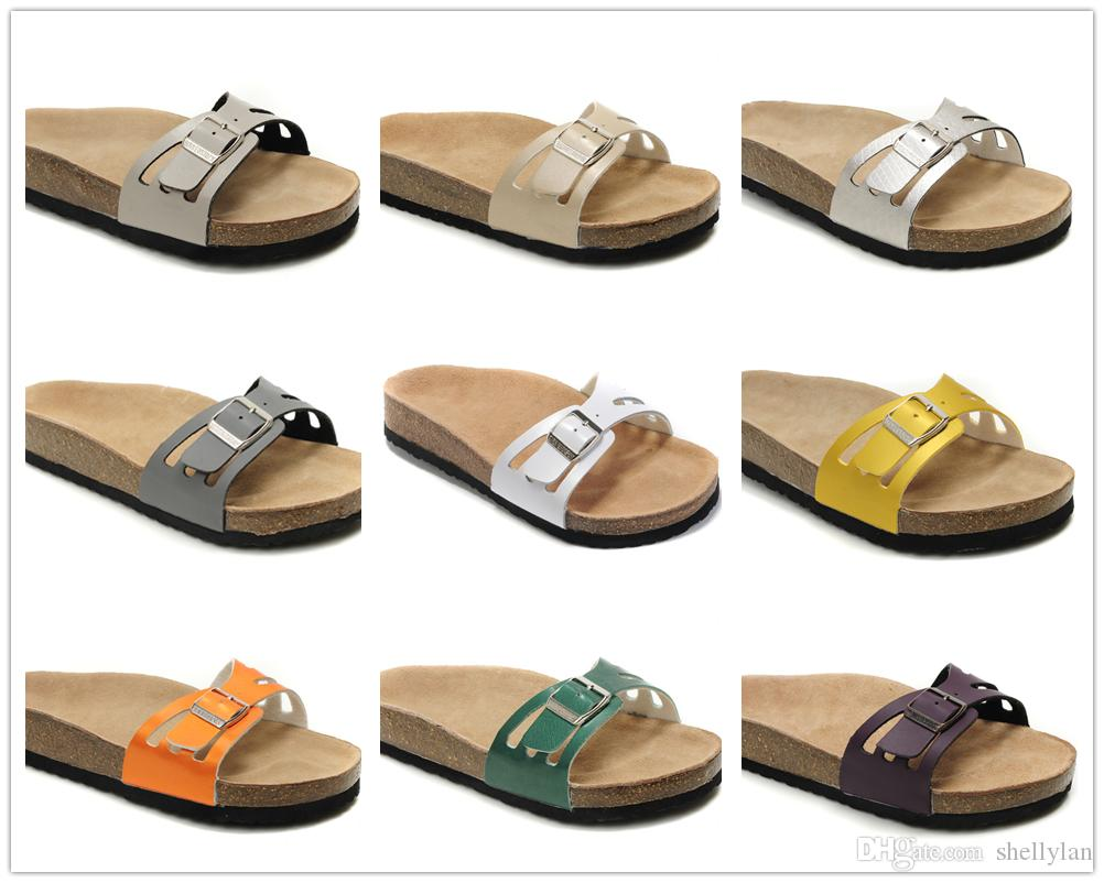349fd9ee2 Famous Brand Novato Women Flat Heel Sandals Summer Beach Casual Shoes  Ventilation Comfortable Black Big Bottom Genuine Leather Slippers  Comfortable Shoes ...