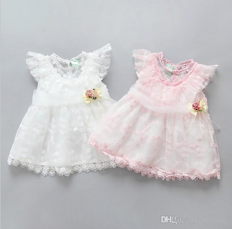 2018 2017 cute baby girls lace dresses newborn baby princess tutu skirts infant child toddler party wedding dress kids skirt from greatamy 38 2 dhgate