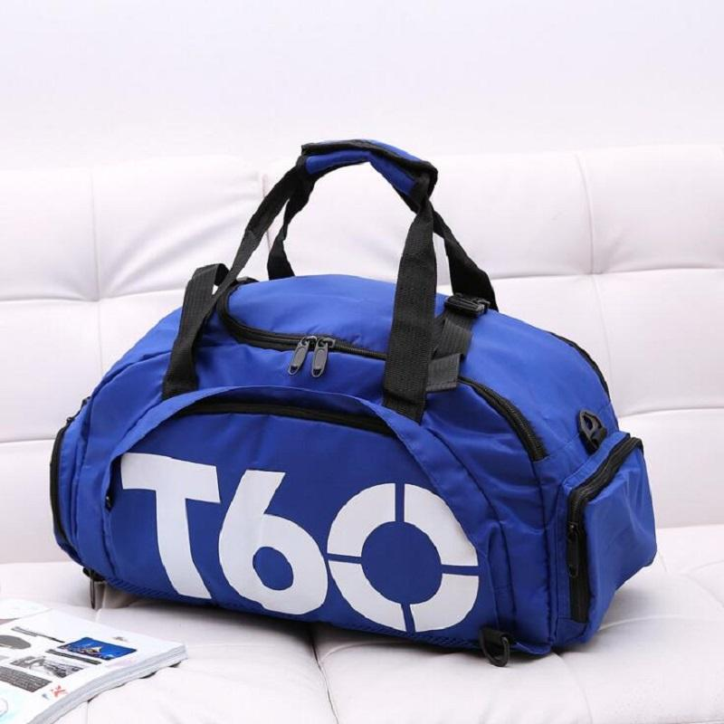 9a7697be58 2019 Wholesale 2017 New Men Women Gym Bags T60 Waterproof Outdoor Luggage  Travel Nackpack Multifunctional Sport Bag From Hlq1027