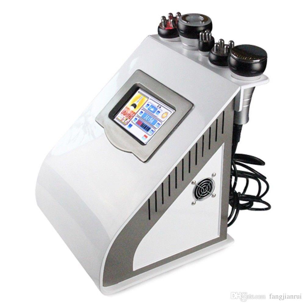 RU-919 4IN1 Vide de cavitation Sextupolaire 3D Smart Thérapie de Photon RF / instrument de beauté facial ultrasonique Cavitation Vacuum Multip