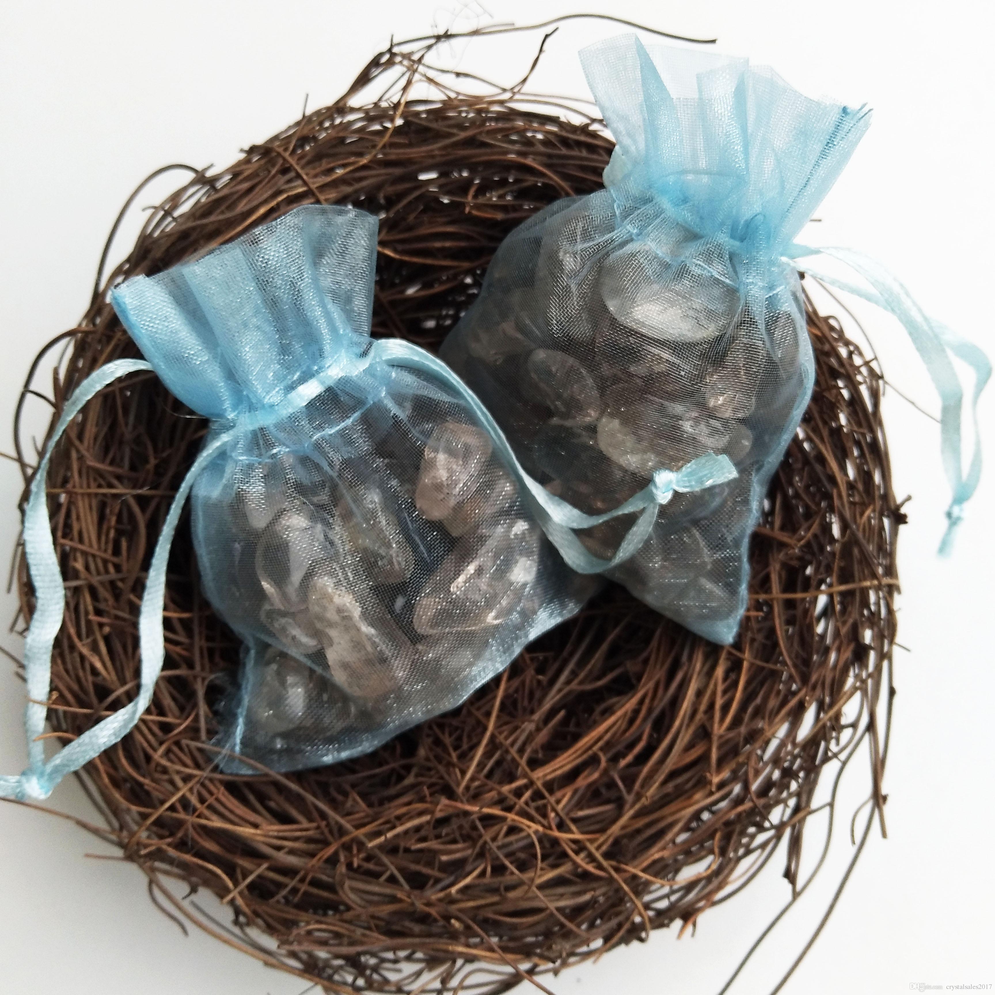 15-30 ملم الطبيعية الدخان الصخور الكوارتز الكريستال حجر الكريستال هبط الحجر غير النظامية هدية صغيرة الحجم الشفاء كريستال