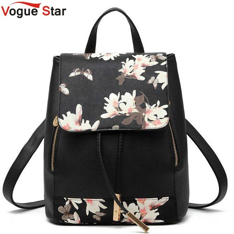 Wholesale Vogue Star 2017 New Design Pu Women Leather Backpacks ...