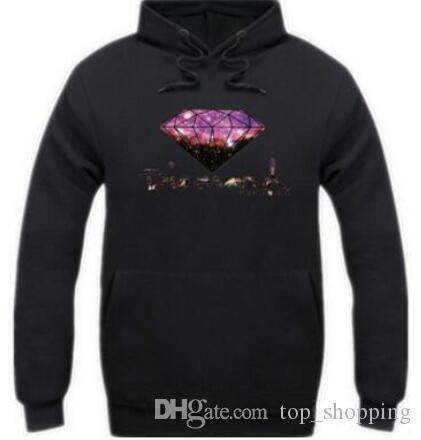 Diamond supply co hombres sudadera con capucha mujer calle fleece sudadera cálida invierno otoño moda hip hop suéter primitivo