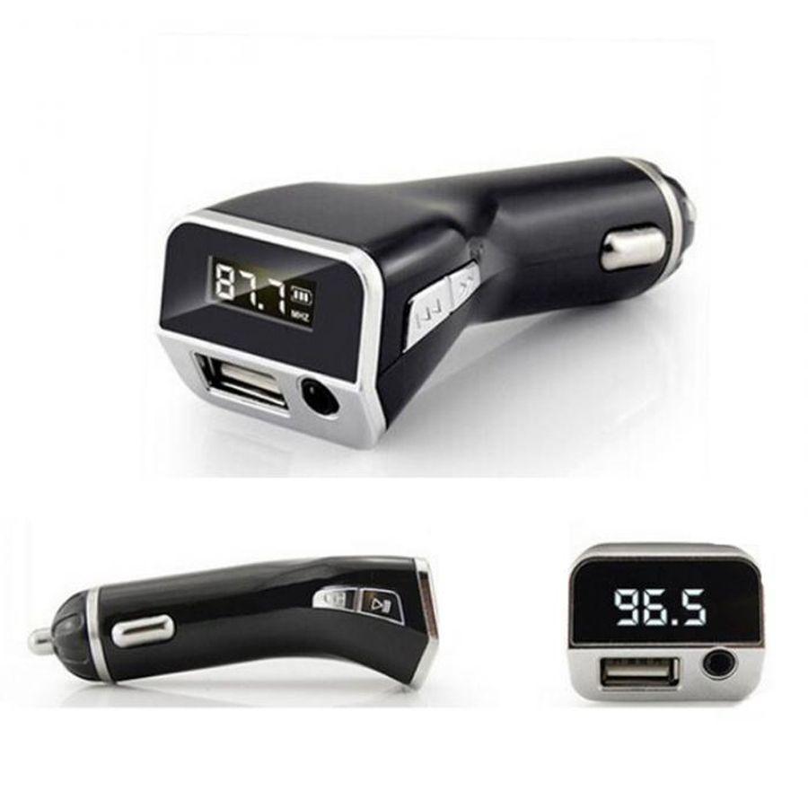5 V 2.1A M81 Car kit Transmissor Hands-free MP3 Player Sem Fio FM AUX Saída Surporrt USB Carregador Music Player Car-carregador