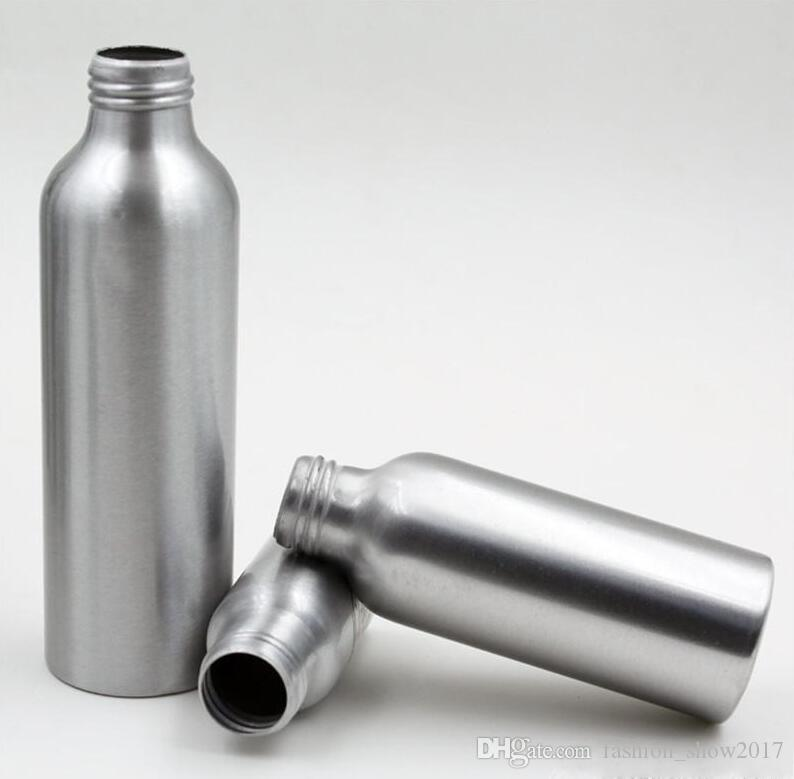 Пустые металлические алюминиевые аэрозольные баллончики с контейнерами Духи Металлический контейнер Бутылка эфирного масла с алюминиевым распылителем тумана