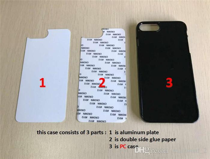 Wholesale For Sony Z3 Z5 2D Hard PC Sublimation Phone Cases for Sony with Blank Metal Insert DIY Design Back Covers Housing