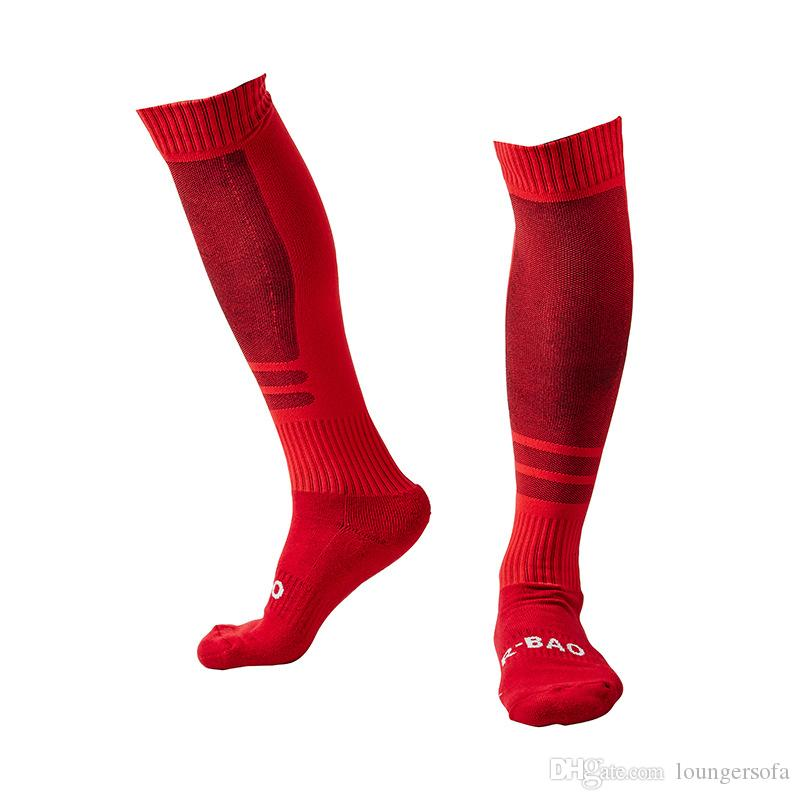 Football Socks New Long Sleeve Leg Warmers For men Thicken Cotton Towel Bottom Outdoor Sports Training Stocking 11 2qy F1