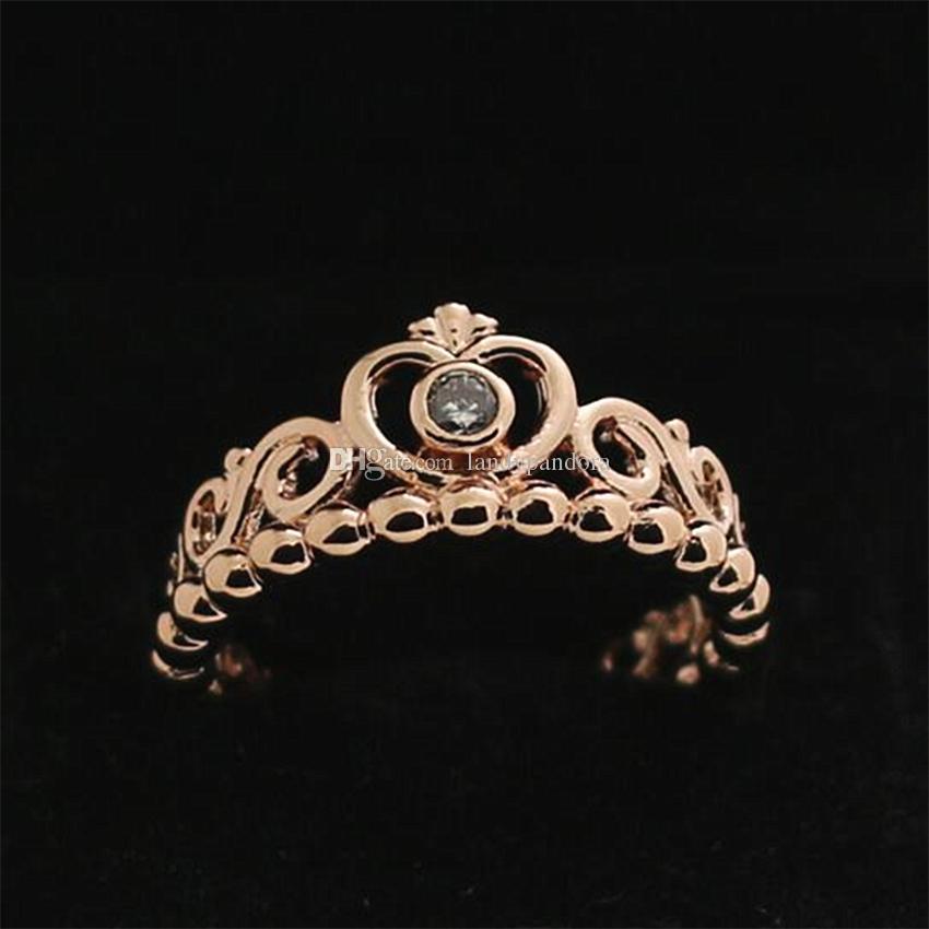Rose Gold Ring European Fashion line