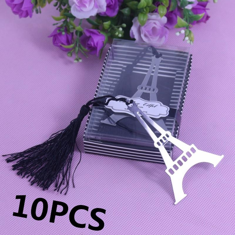 Wholesale Bulk Eiffel Tower Bookmarks For Party Wedding Giveaway