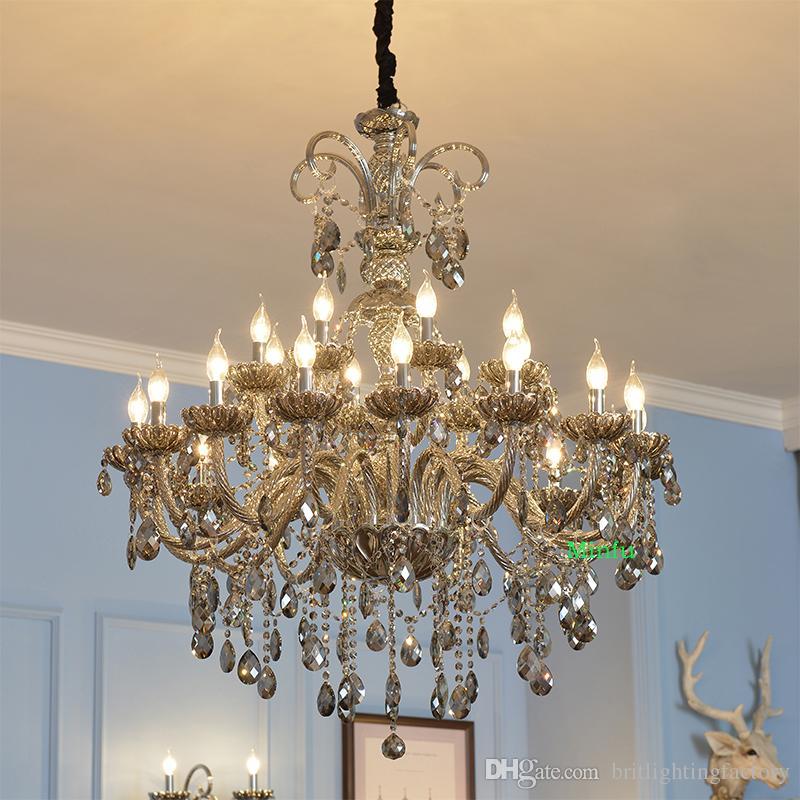 Living Room Crystal Chandelier Lighting Vintage Lamp Indoor ...
