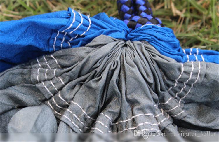 Wandern Camping Zwei Personen Leicht Frei Bauen Baum Zelt Hängematte mit Bett Sommer Im Freien Getriebe Luftzelte Bergsteigen Rest Multicolor