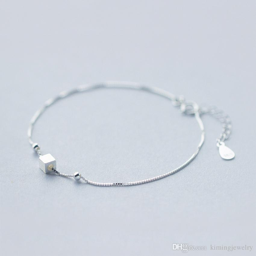 Simple Design Pure 925 Sterling Silver Jewelry Elegant ...