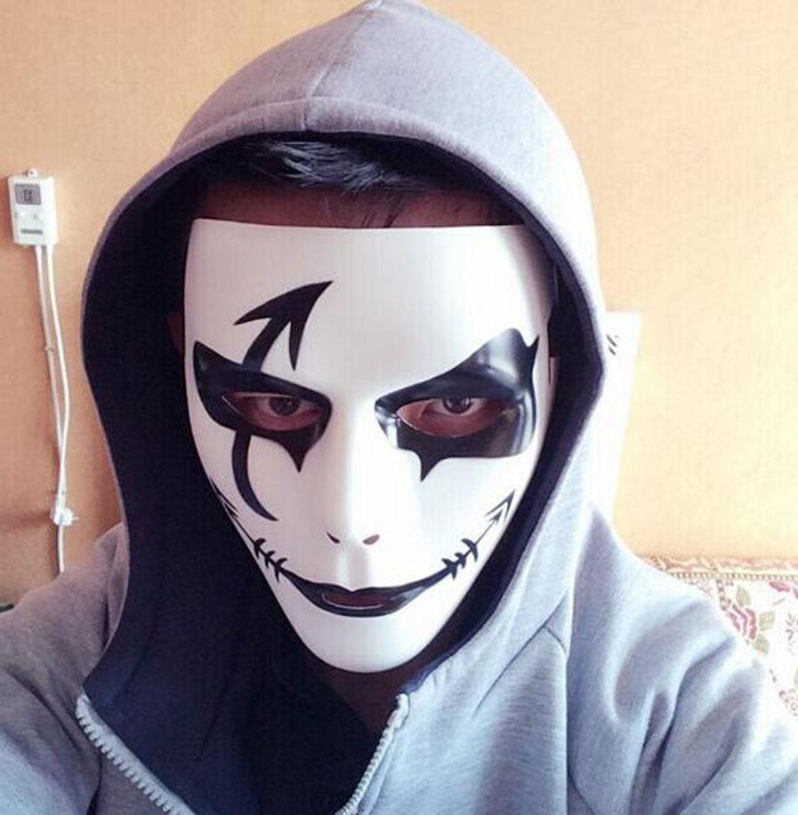20 styles jabbawockeez face mask, evil death halloween party mask