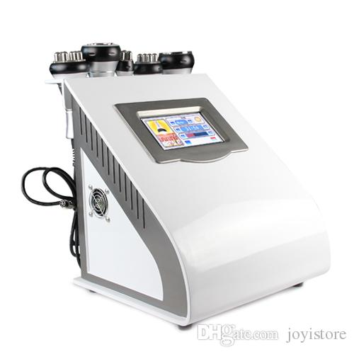 5-1 New Radio Frequency Ultrasonic Liposuction Cavitation Slimming RF Skin Tightening Body Sculpture Salon Beauty Machine