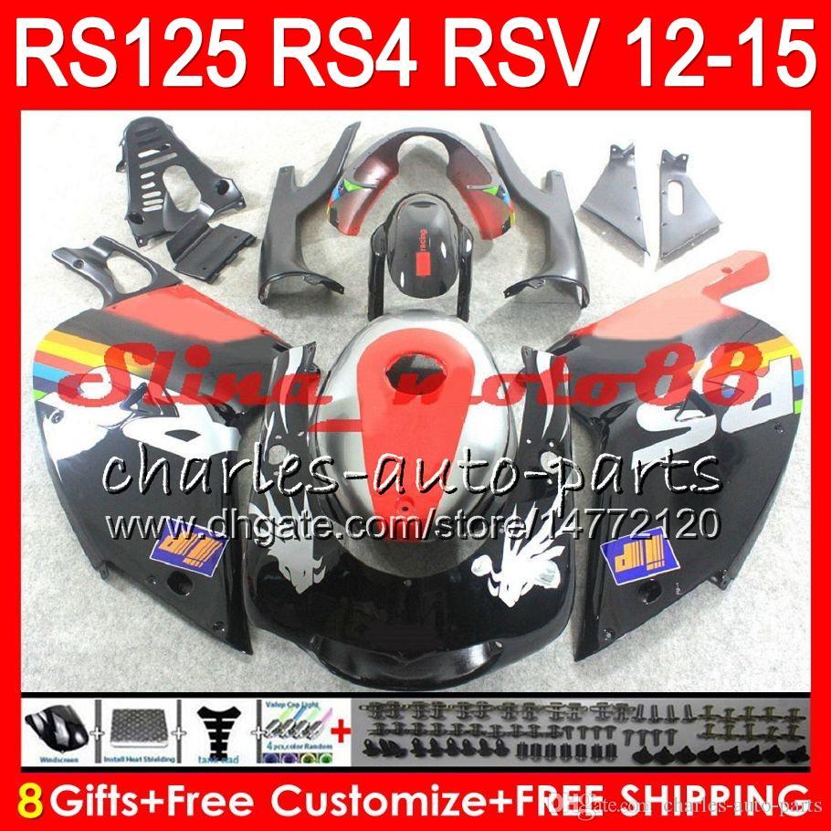 Gloss Repsol Injecção Para Aprilia RS4 RS125R RS 125 2012 2013 2014 2015 RS-125 72NO3 RSV125 12-15 RS125R RSV 125 RS125 12 13 14 15 Carenagem