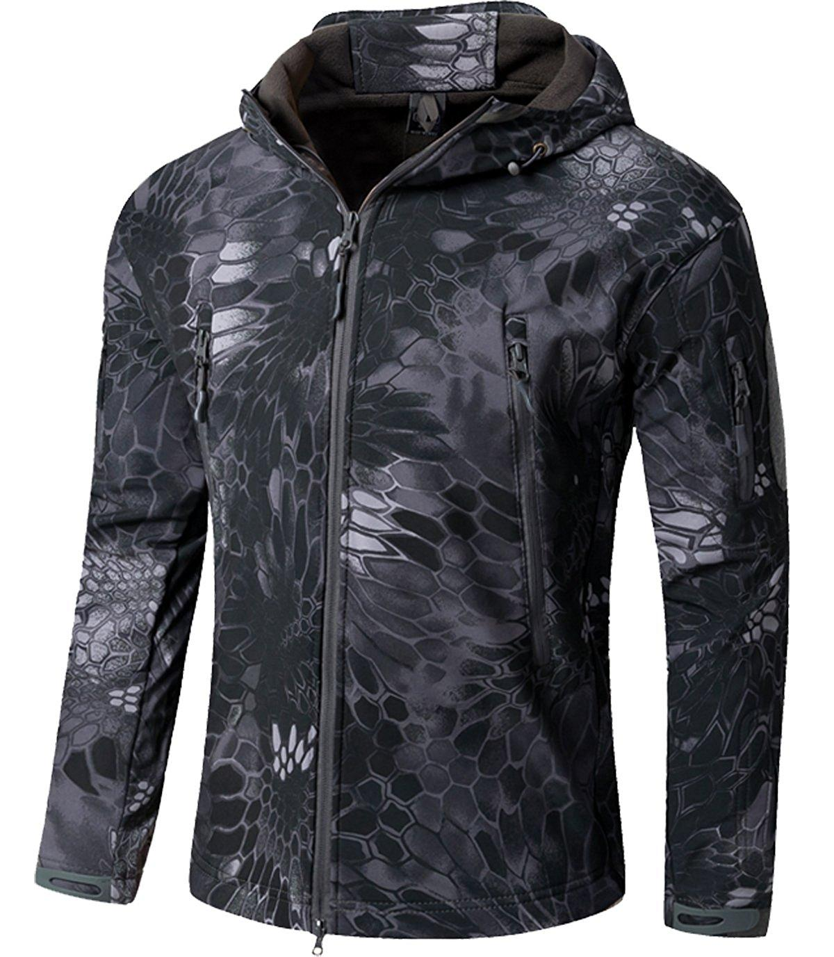 Shanghai Story Military Tactical Army Jacket TAD GEAR Soft SHELL Jacket Outdoor Hiking Coat Waterproof Windproof Jackets