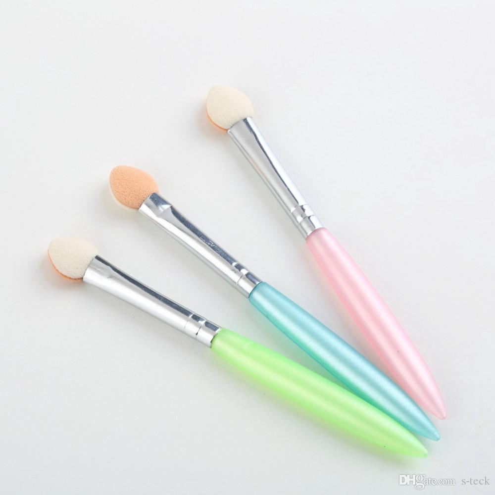 1 Unidades 5 Unids Belleza Maquillaje Cosméticos Sombra de ojos Delineador de ojos Cepillo Herramienta de aplicador de esponja