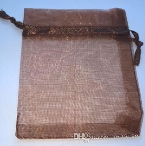 Смешанный цвет несколько цвет 9 * 7 см органзы бархат ювелирные сумки для ожерелье браслет серьги сумки ackage Валентина подарки аксессуары