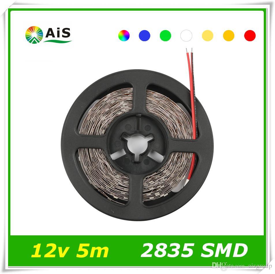 Smd 2835 Led Strip 5m 300leds/Roll Ip20/Ip65 Waterproof Ledstrip ...