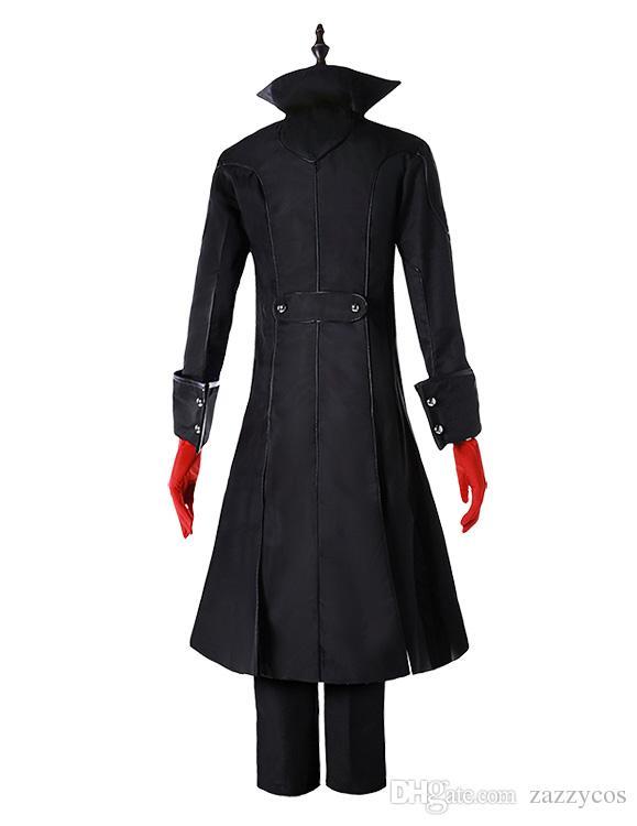 Anzug Jacke Kostüm Joker Cosplay 12 Persona Kleidung Auf Zazzycos74 De Großhandel Mantel 5 Top Von dhgate Protagonist Outfit comDhgate Kleid UMVSpz