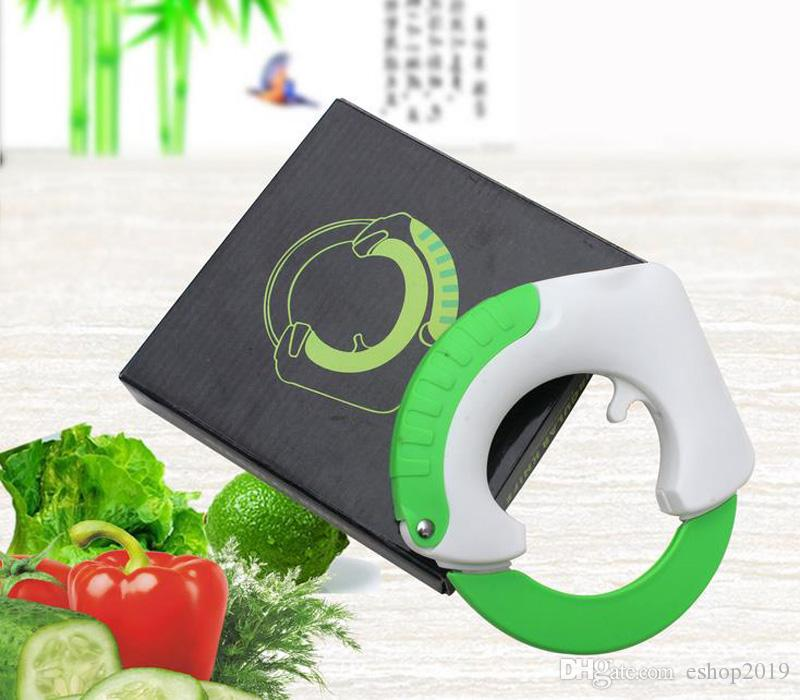 The Rolling Knife Innovative Design of The Kitchen Circular Knife Sharp Blade Cutting Vegetables Meat Cake Stainless Steel Rolling Slicer