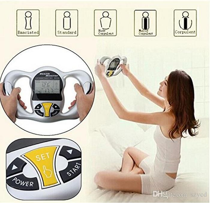 Portable Slim Equipment LCD Monitor Aooher Body Fat Analyzer High Frequency Operation System Type Multifunction Body Milk Testing Machine