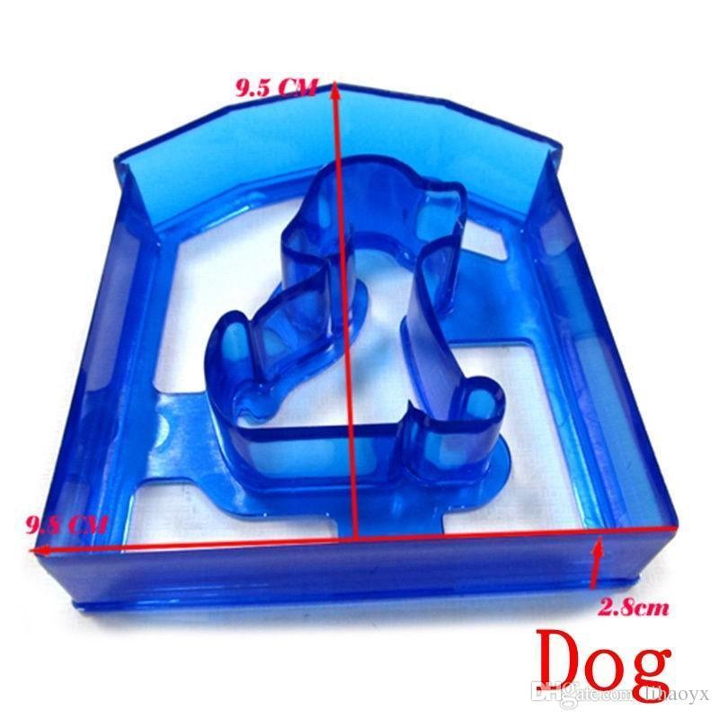 Hot Sandwich Mold Cutter Bear Dog Dog Teris Forma Hornear Pastel Pan Tostada Molde Maker c078