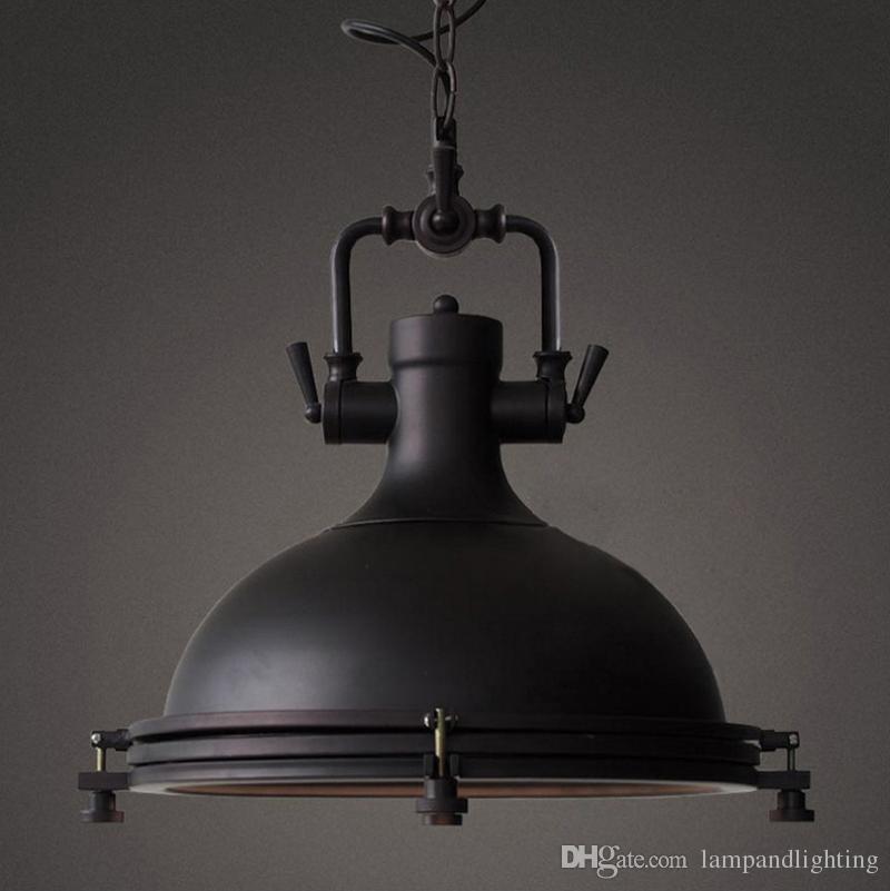 다 이닝 룸 레스토랑 막대 홈 장식에 대 한 미국의 골동품 스타일 산업 로프트 금속 펜 던 트 램프