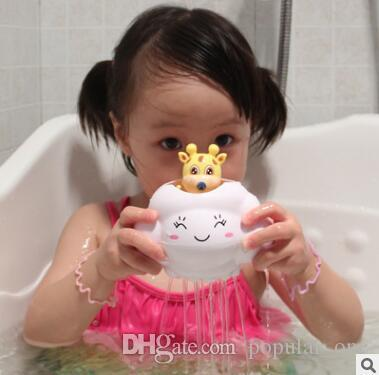 Online Cheap Baby Bathtub Toys Baby Bath Toys Cute Cloud Deer Sprinkling  Water Bathtub Beach Water Toys For Baby Children Shower Toy Kids Gift 733  By ...