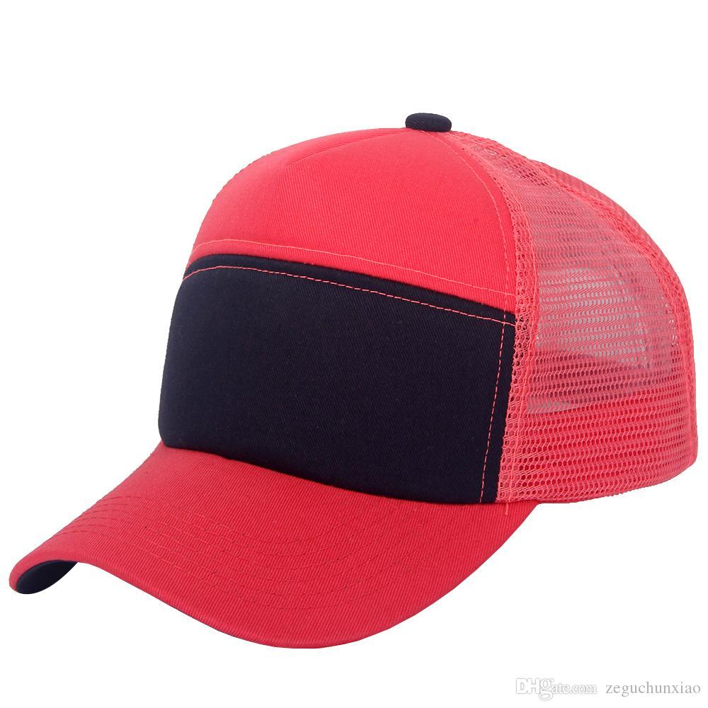 9b15037a167007 Products Show. Wholesale 6 Panels Adjustable Trucker Mesh Hat Sport Woman  Baseball ...