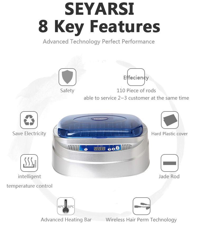 New Arrival Wireless Hair Perm Machine Nano Titanium Professional