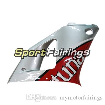 Full ABS Fairings For Yamaha YZF 1000 R1 98 99 YZF-R1 1998 1999 Motorcycle Fairing Kit Bodywork Red Silver Cowlings Motorbike Body Frames
