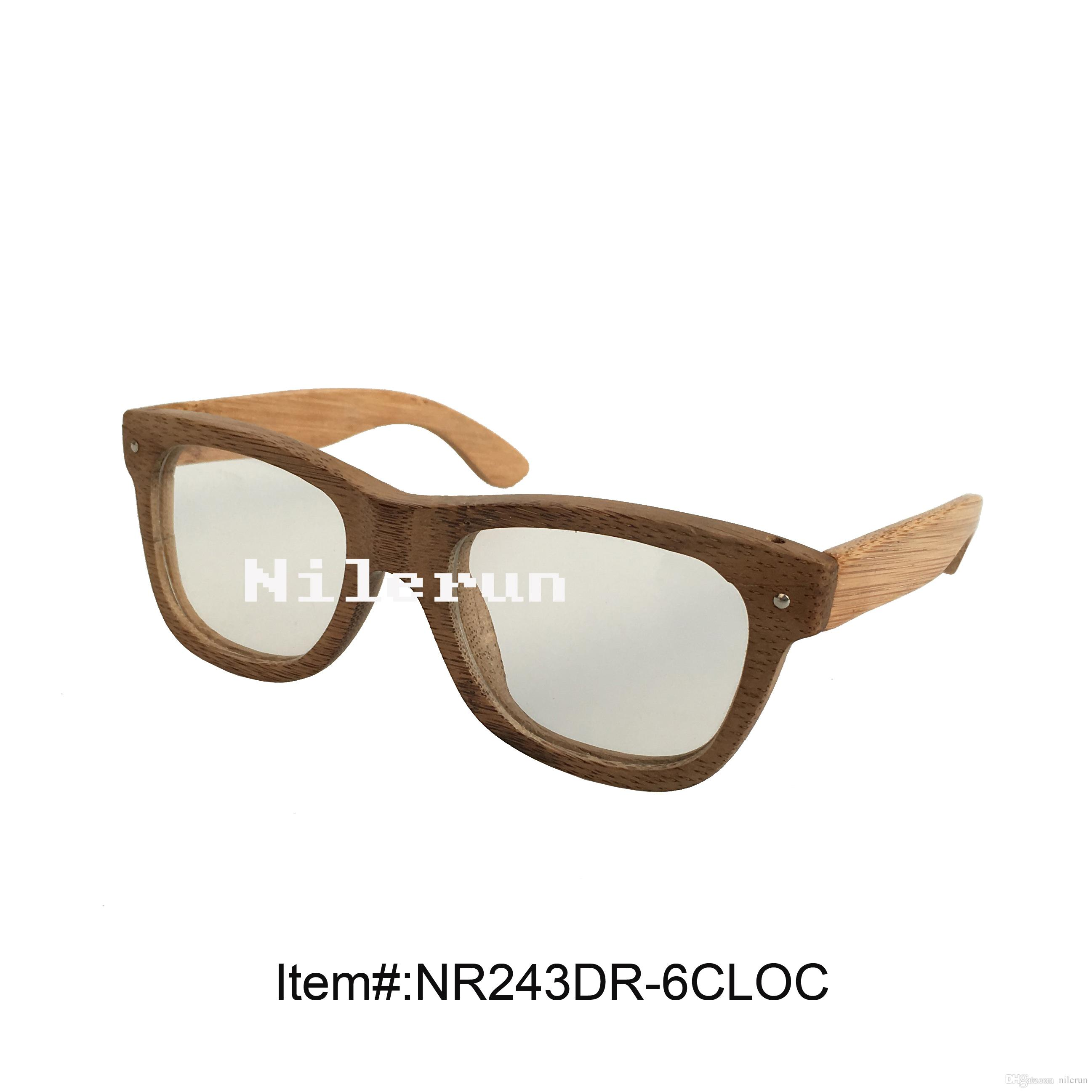 Fashion Eco Friendly Bamboo Optical Eyeglasses How To Repair ...