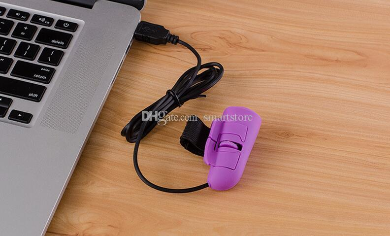 البسيطة USB سلكي بصري 3D البنصر ماوس الفئران لأجهزة الكمبيوتر المحمول PC 0001