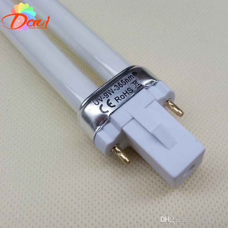 9W elektronische UV-Lampen-Nagel-Trockner-Gel-kurierende Nagel-Kunst-UVnagel-Glühlampe